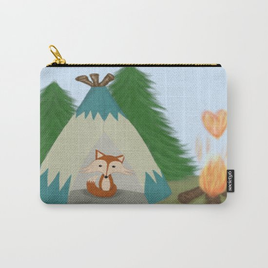 The Lone Fox  Carry-All Pouch