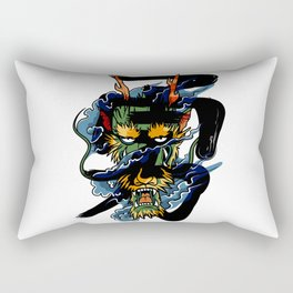 Brave Dragon Rectangular Pillow