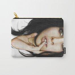 Lauren Jauregui Coloured Pencil Drawing  Carry-All Pouch