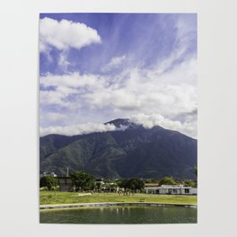 El Ávila desde el Parque Simón Bolívar Poster