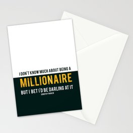 Millionaire Ms Parker Stationery Cards
