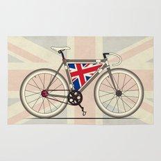 Love Bike, Love Britain Rug