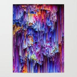 Rain glitch Poster
