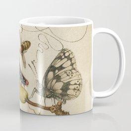 Pear Butterfly Caterpillar Coffee Mug