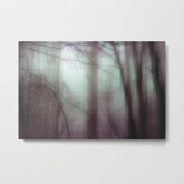 Through The Thicket Metal Print