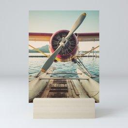 Seaplane Dock Mini Art Print