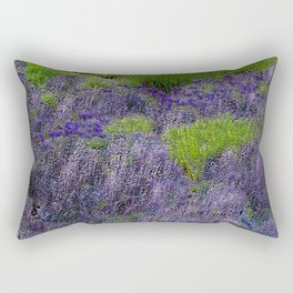 Lavender Fields Rectangular Pillow