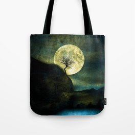 The Moon and the Tree. Tote Bag