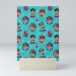 Little Animal Friends Mini Art Print