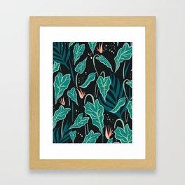 Greens Art Print Framed Art Print