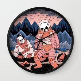 Death in Space II Wall Clock