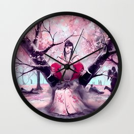 According to my jealousy Wall Clock