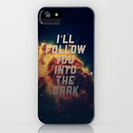 Into the Dark iPhone Case