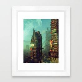 MORNING OXIDE (08.27.18) Framed Art Print