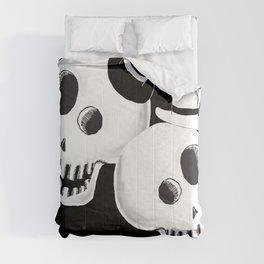Dapper Skulls Comforters