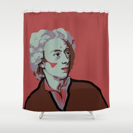Alexander Pope Shower Curtain