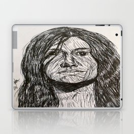Psychedelic lines Laptop & iPad Skin