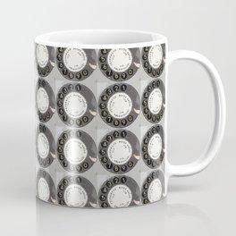 Die DDR Telefon Collage Coffee Mug