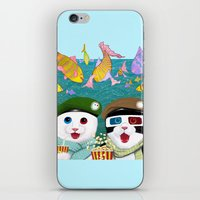 3d iPhone & iPod Skins featuring 3D by Tummeow