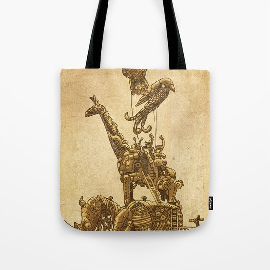 Mechanical Menagerie Tote Bag
