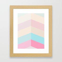 Ice Cream Walls Framed Art Print
