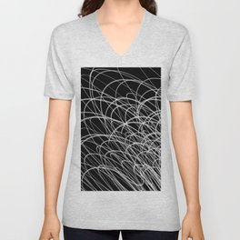 Linear Waves2 Unisex V-Neck