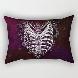 Ribcage Heart Rectangular Pillow