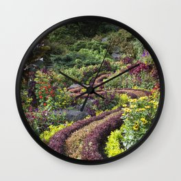 Winding Path Wall Clock