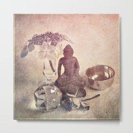 Buddha Meditation Metal Print
