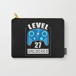 27th Birthday Gamer 27 Years Gaming Gift Carry-All Pouch