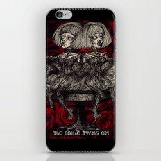Gothic Twins iPhone & iPod Skin