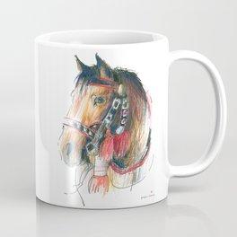 Horse Head (Drayhorse from Zakopane) Coffee Mug