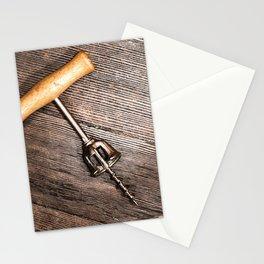 Corkscrew 3 Stationery Cards