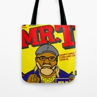 terry fan Tote Bags featuring Terry by Jake Bjeldanes