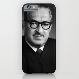 Thurgood Marshall Portrait - 1970 iPhone Case