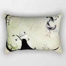 Cat Romance Rectangular Pillow