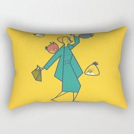 Birds (angry) Rectangular Pillow