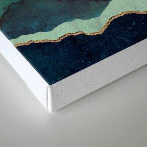 Indigo Mountains Canvas Print