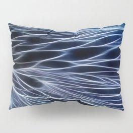 Blue Chain Pillow Sham