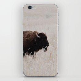 Oklahoma bison iPhone Skin