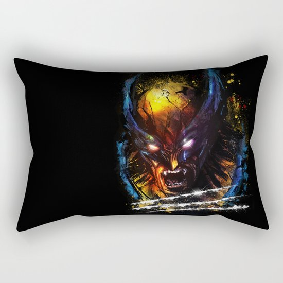 The Wolverine Rectangular Pillow