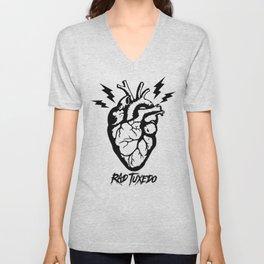 Electric Heart Unisex V-Neck