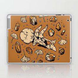 Triceratops Rocks! | Citrine Quartz Laptop & iPad Skin