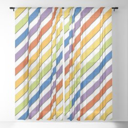 Equality 45 Split Sheer Curtain