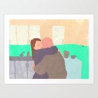 Kitchen Love Art Print