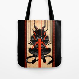 Krampus Tote Bag