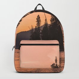 Forest Island at the Lake - Nature Photography Backpack