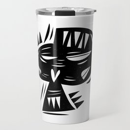 Calavera no chilla Travel Mug