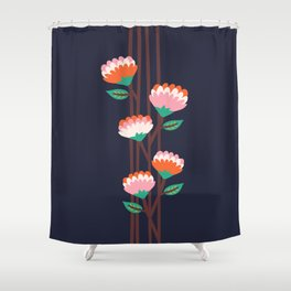 Benoít Flowers Shower Curtain