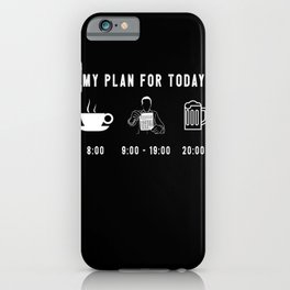 Funny Accountant Bookkeeper Tax Season CPA Gift iPhone Case